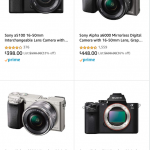 Sony Mirrorless on Sale