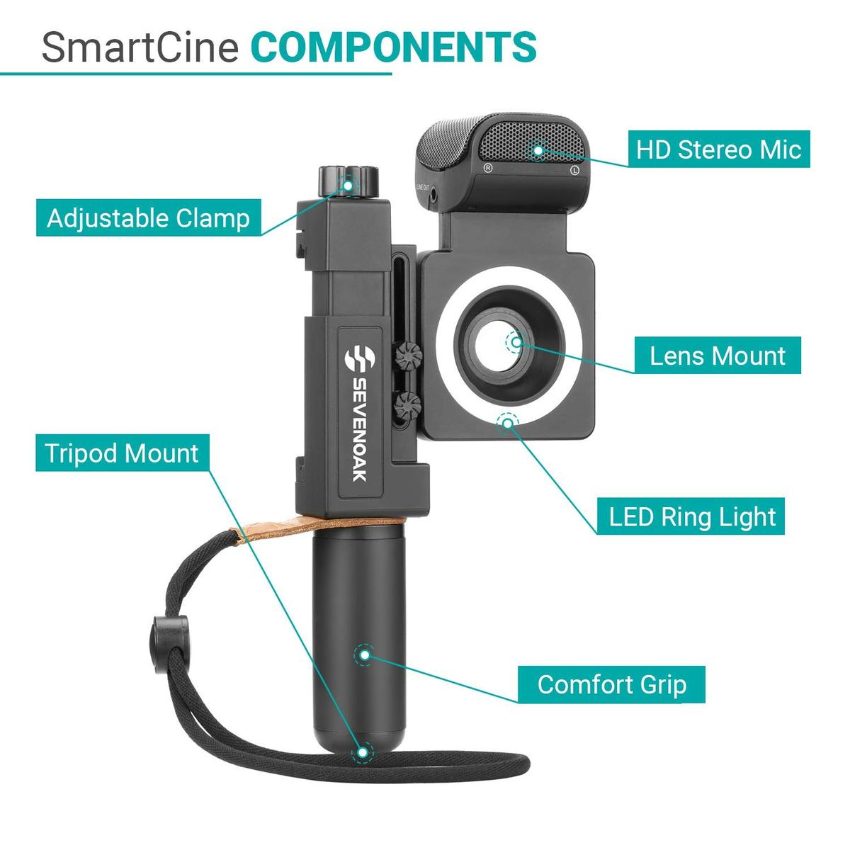 How to Setup the MOVO SmartCine Complete Universal Smartphone Video Kit